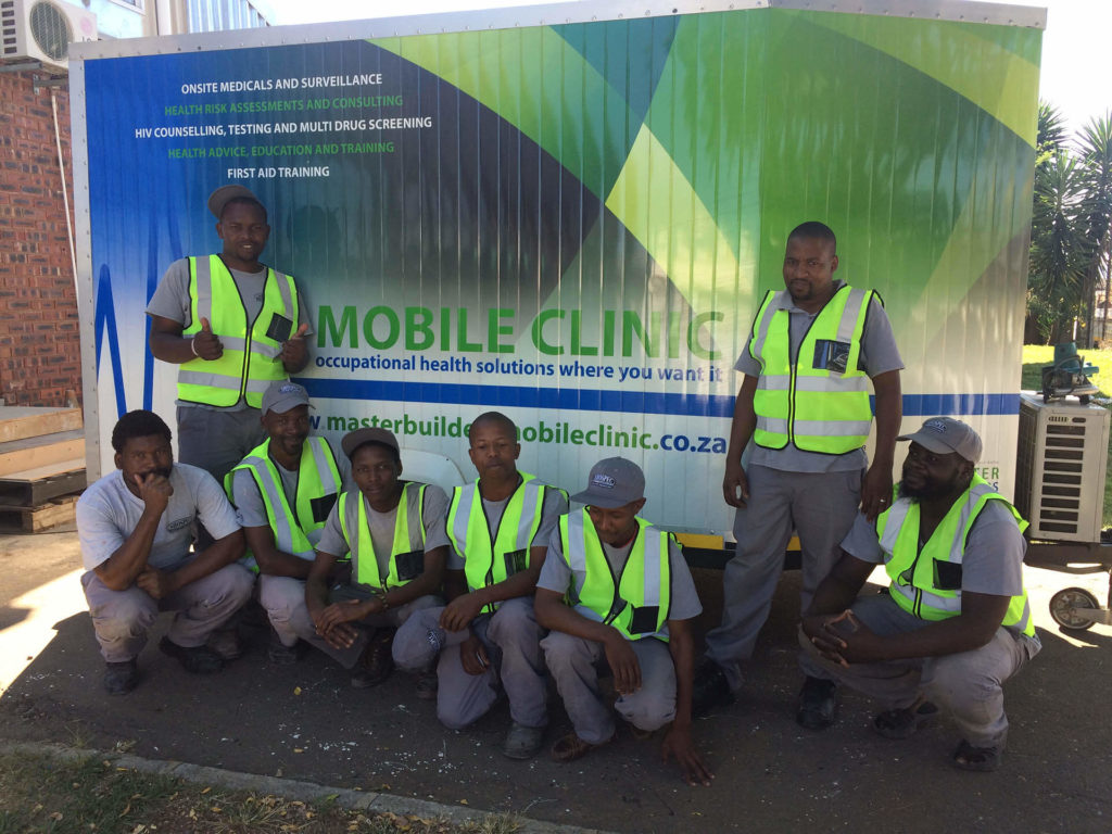 medicals shospec-staff-occupational-health-safety-LSF-project-quality-shopfitting-light-steel-frame-building-pmb-team-mobile-clinic