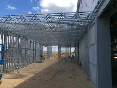 dabmar manufacturing plant shospec-project-light-steel-frame-building-lsf-construction-dry-wall-pietermaritzburg-kzn
