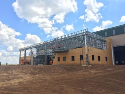 dabmar manufacturing plant shospec-project-light-steel-frame-building-lsf-construction-suspended-ceilings-pietermaritzburg