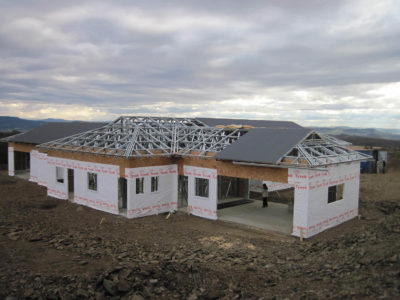 house kahler shospec project-light-steel-frame-building-lsf-construction-intaba-Ridge-aluminium-frames