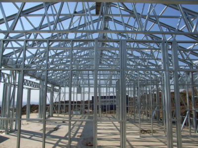 house kahler shospec project-light-steel-frame-building-lsf-construction-intaba-Ridge-ceilings