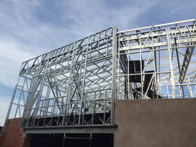 hyundai gateway shospec-light-steel-frame-builders-LSF-construction-dry-wall-shopfitting-aluminum-bulkheads-roof-structure