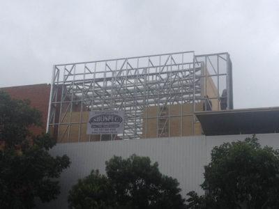hyundai gateway shospec light-steel-frame-builders-ceilings-LSF-construction-dry-wall-shopfitting-aluminum-bulkheads