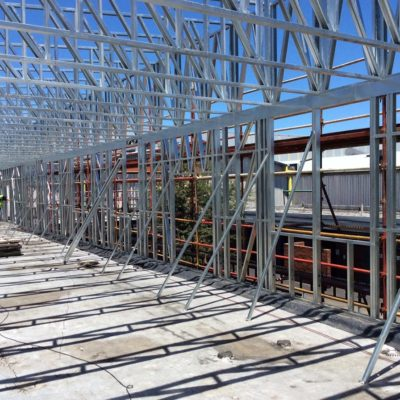 sumitomo rubber shospec project-light-steel-frame-building-lsf-construction-bulkheads-acoustic-dry-walls-installations-pmb
