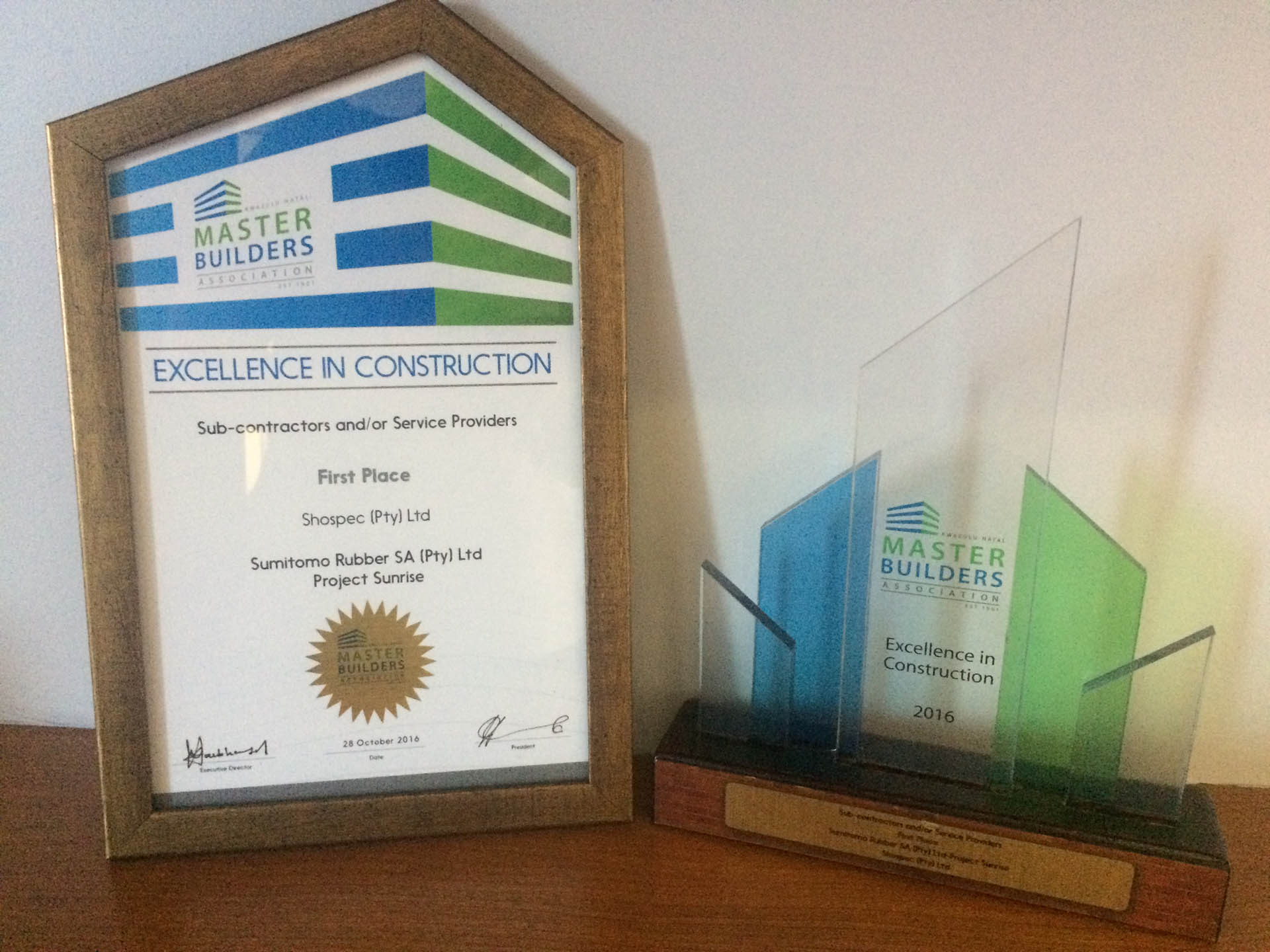master builders awards shospec-excellence-in-construction-sumitomo-rubber-sa-project-sunrise