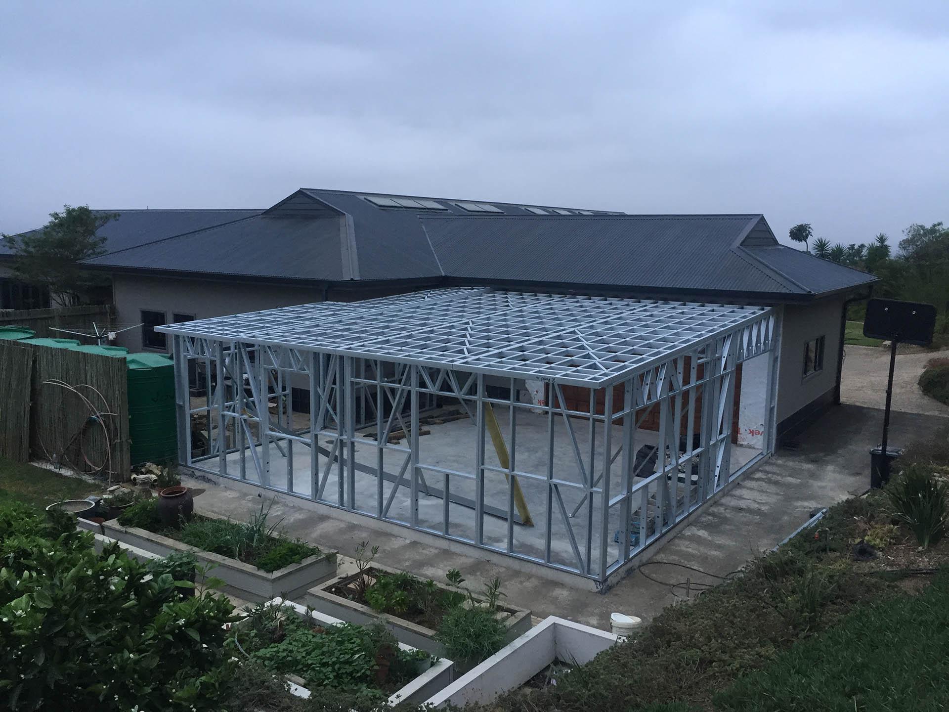 house kahler - extension shospec-project-light-steel-frame-building-LSF-construction-pietermaritzburg