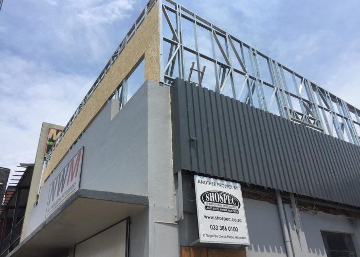 neil woolridge motorsport workshop shospec project-light-steel-frame-building-LSF-construction-pietermaritzburg