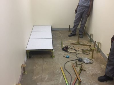 access flooring raised-flooring-shospec-light-steel-frame-building-lsf-construction-pietermaritzburg-bullet-proofing