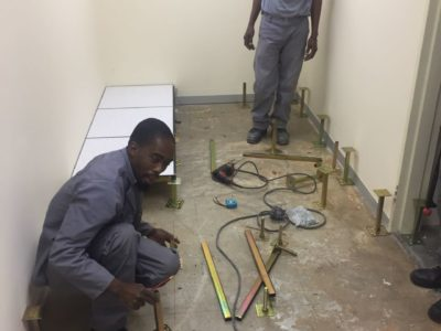 access flooring raised-flooring-shospec-light-steel-frame-building-lsf-construction-pietermaritzburg-partitioning