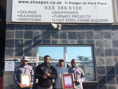 awards shospec shopfitting-building-light-steel-frame-building-LSF-construction-ceilings-pmb-kzn-shopfronts-windows